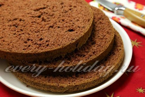 Как сделать шоколадный торт если есть бисквит