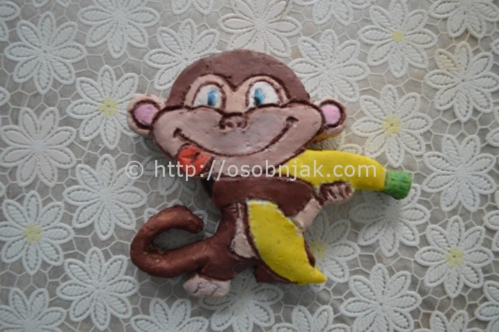 обезьяна из теста мастер-класс