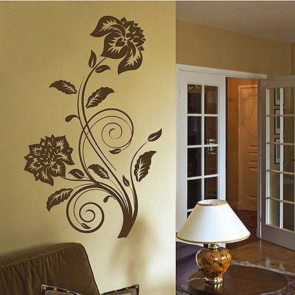 Декор стен своими руками трафареты для декора