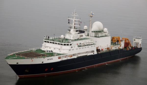"""Исследовательское судно """"Янтарь"""""""