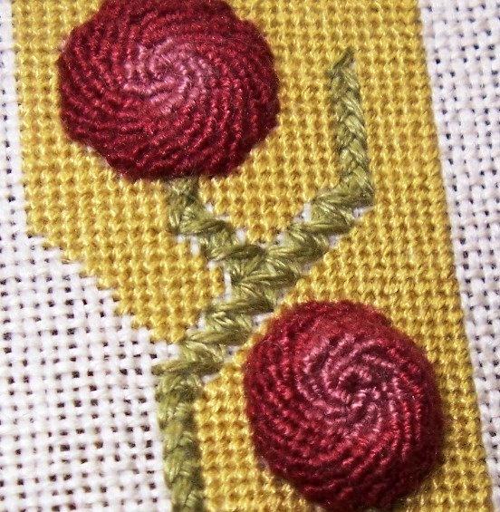 Спиральный шов в вышивке. Мастер-класс