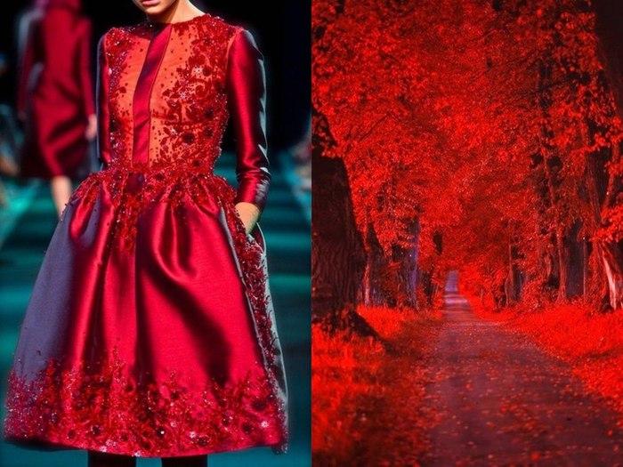 Платья, на создание которых дизайнеров вдохновила сама природа