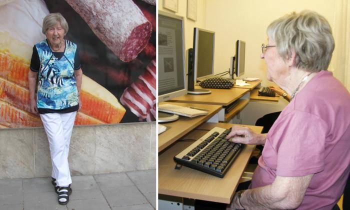 106-летняя Дагни Карлссон из Швеции – самая великовозрастная женщина-блогер