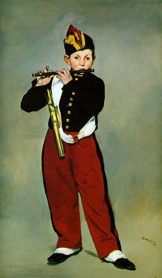 Флейтист.