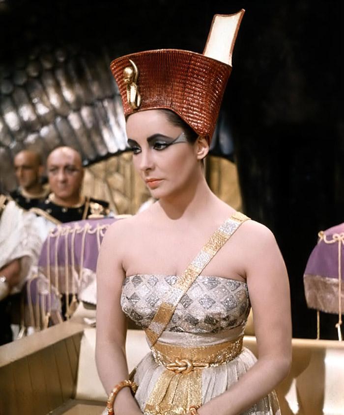 Элизабет Тейлор (Elizabeth Taylor) на съемках фильма «Клеопатра» (Cleopatra) (1963), фото 4