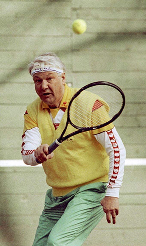 8. Борис Ельцин девяностые, люди, спорт