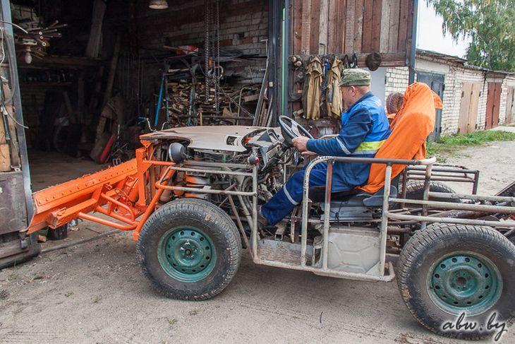 Как собрать самодельный трактор своими руками видео