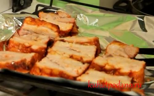 Обалденные рёбра в духовке еда, мясо., своими руками, сделай сам