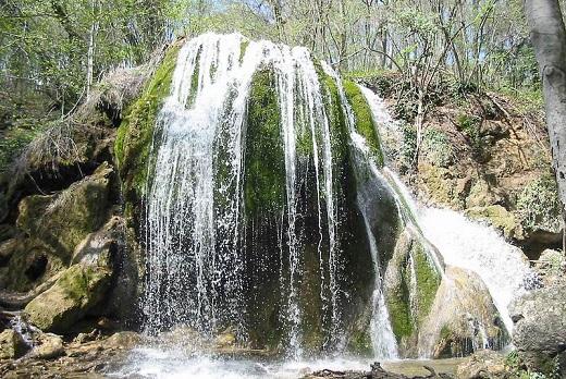 Водопад «Серебряные струи» в Крыму обрушился и навсегда утратил свою красоту