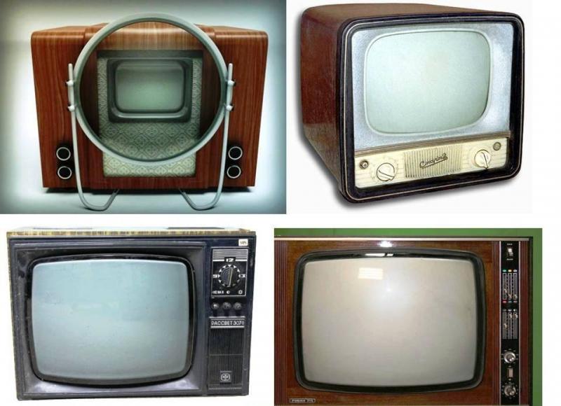 Телевизоры Советского Союза :)