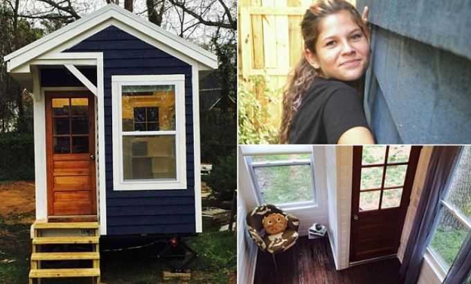 14-летняя девочка построила дом за 10 000 долларов дом, подросток, своими руками