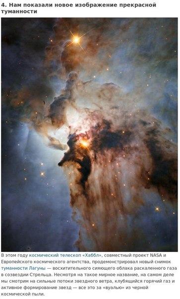 9 удивительных фактов о космосе, которые мы узнали в этом году.