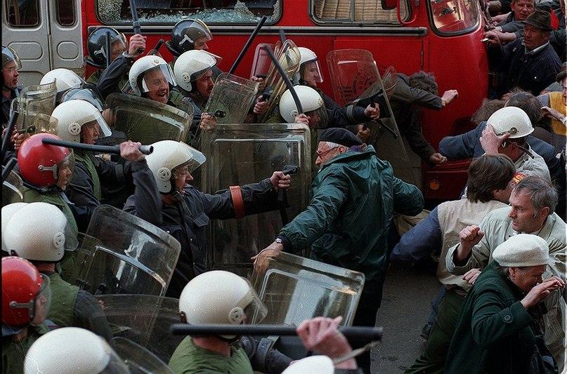 "1 мая 1993 года. ""Ельцинская"" демократия..."