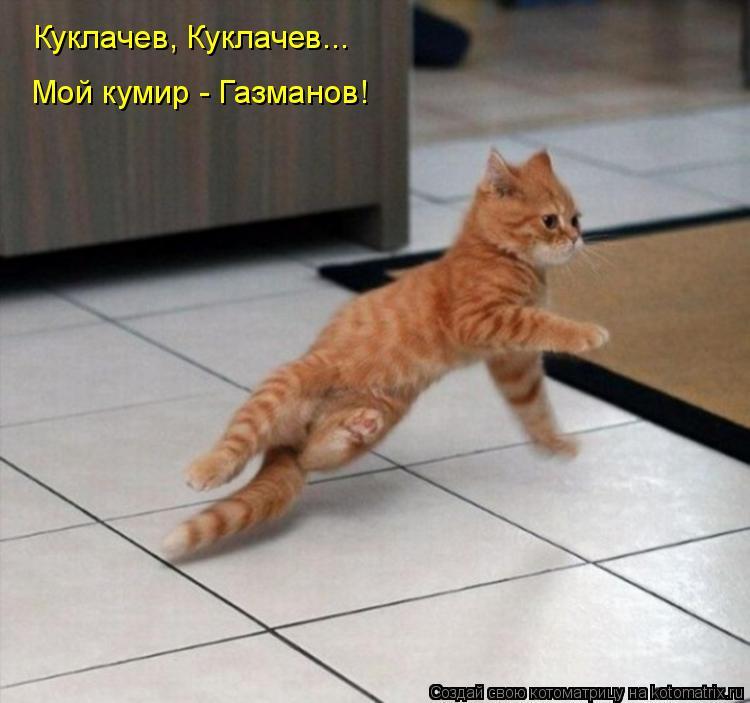 Котоматрица: Куклачев, Куклачев... Мой кумир - Газманов!