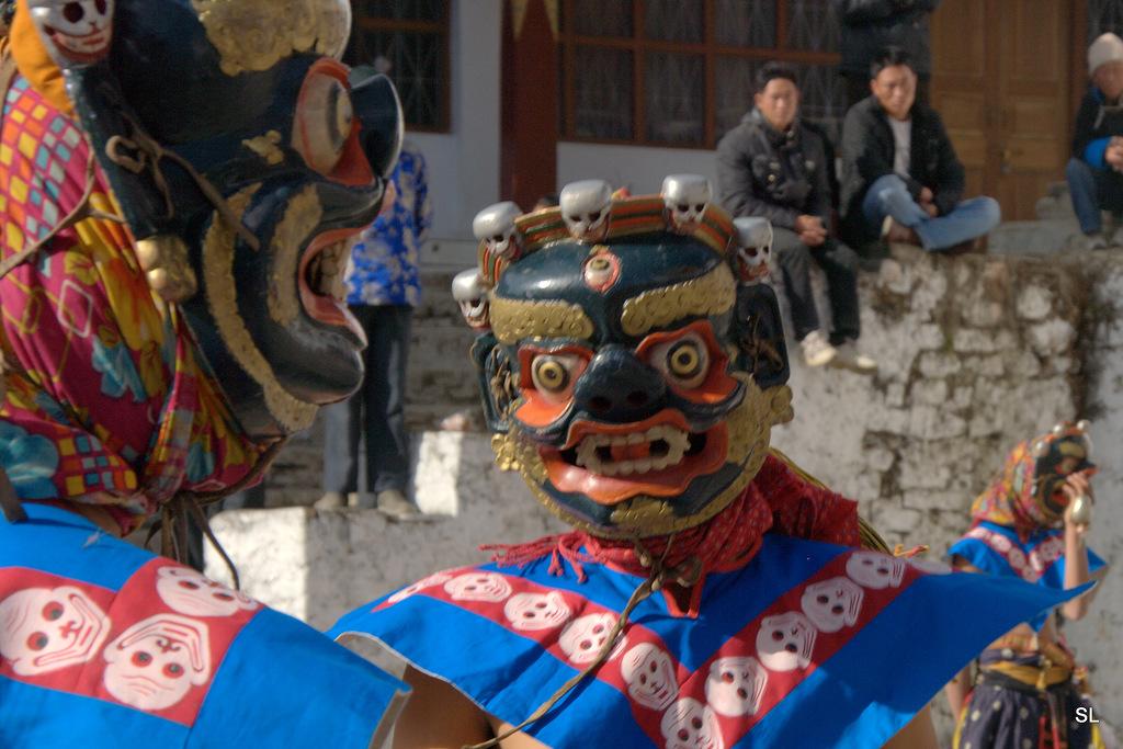 Ритуальные танцы чаам (chaam dances)