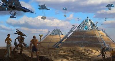 На Земле уже существовали высокоразвитые цивилизации