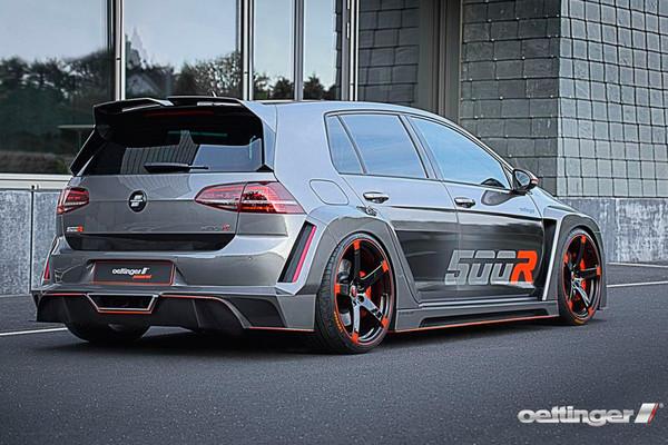 Volkswagen Golf получил 518-сильный двигатель
