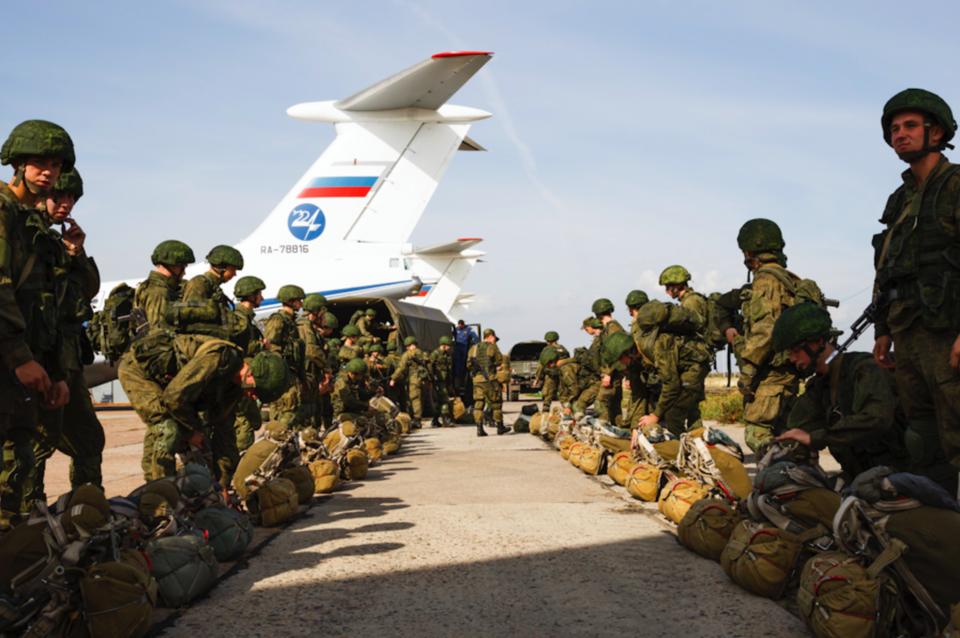 фото русских военных в сирии доверенности получение
