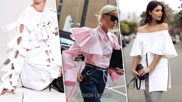 9 необычных, но безумно красивых блуз с акцентом на рукава