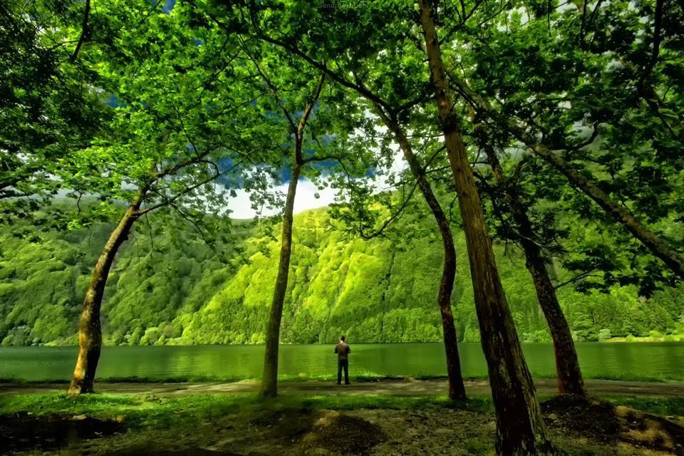 8 самых красивых озер на Азорских островах красота, озера, природа