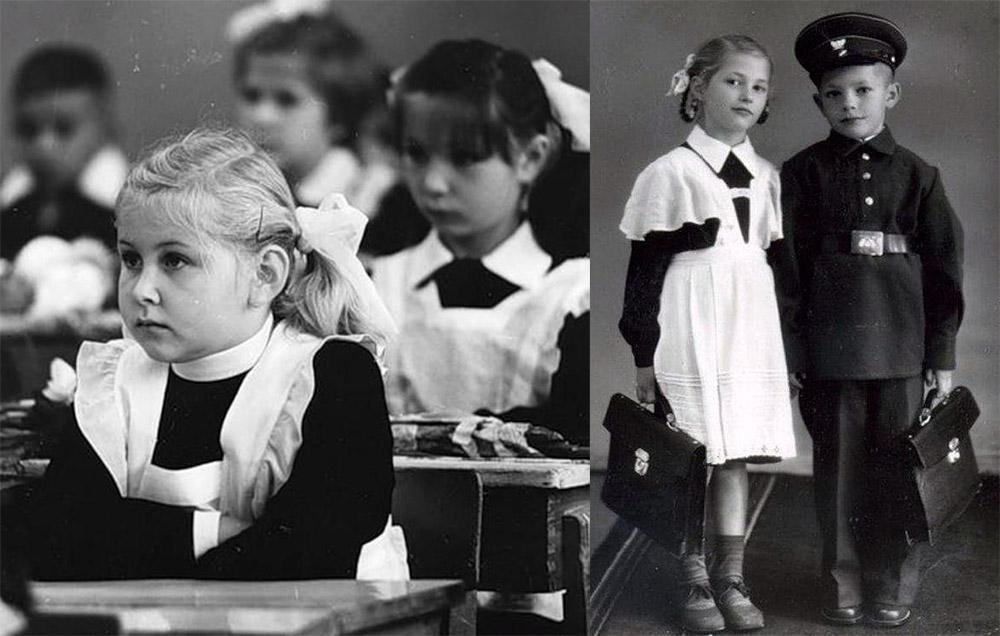 Школьная форма для девочек и костюм горничной