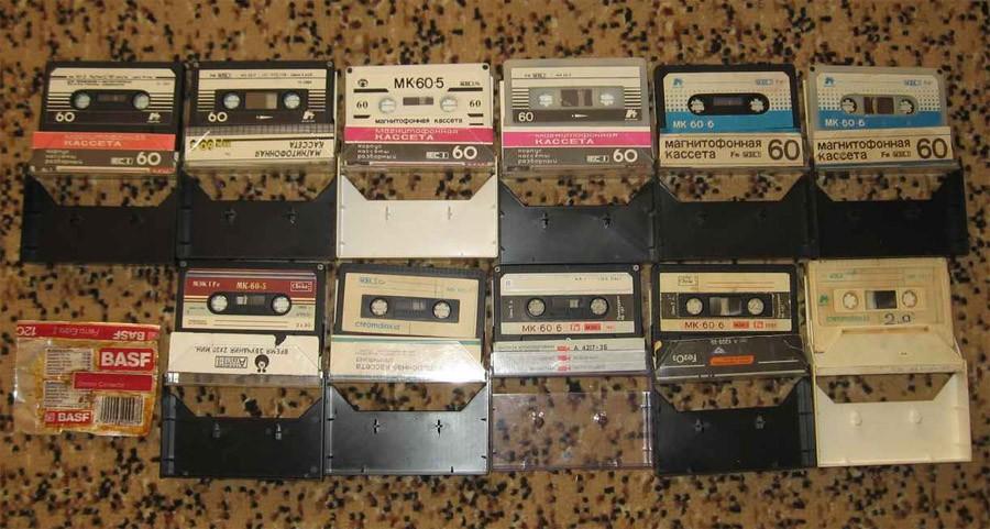 Аудиокассеты в СССР