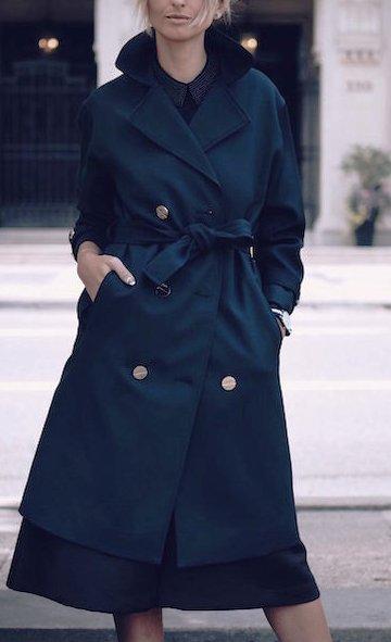 Уличная мода осени 2015: модные образы с пальто