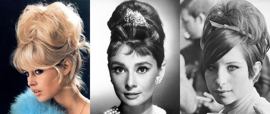 Прическа 60-х годов женские