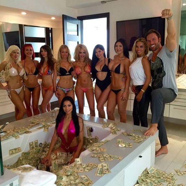 выезд фото богатые развлекаются с девушками предложение для мужчины