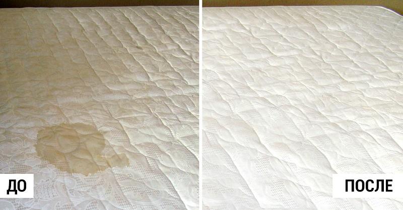 Как почистить матрас в домашних условиях от пыли