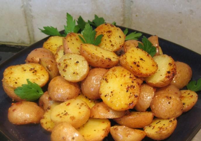 Картофель отварной в духовке рецепт фото