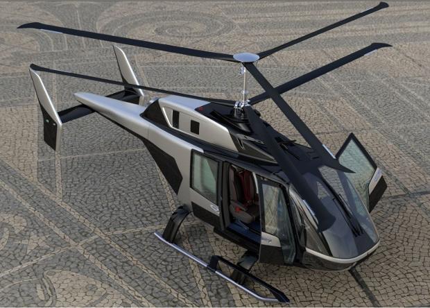 Начались продувочные испытания первого российского однодвигательного вертолета