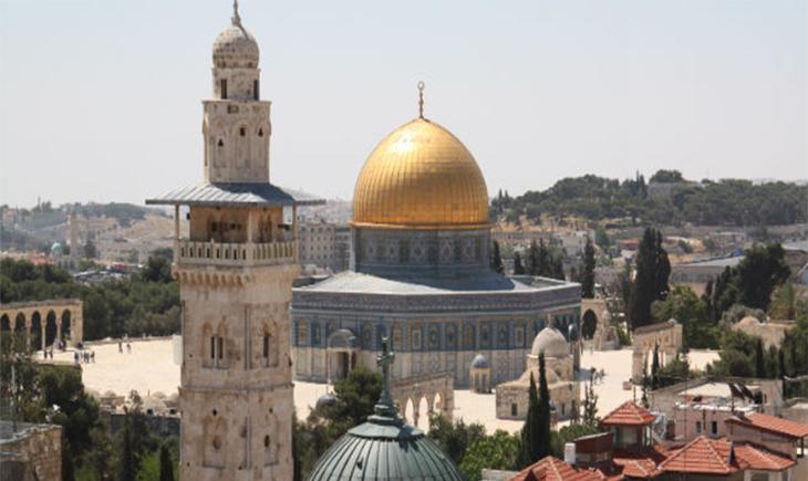 Мечеть Купол Славы на Храмовой горе