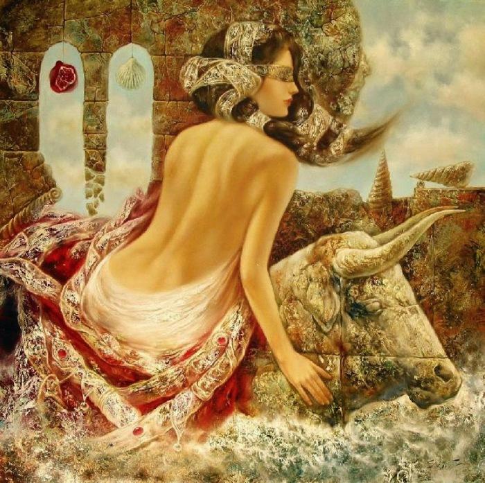 Чувственные образы. Красочные работы литовского художника Станислава Сугинтаса (Stanislav Sugintas).