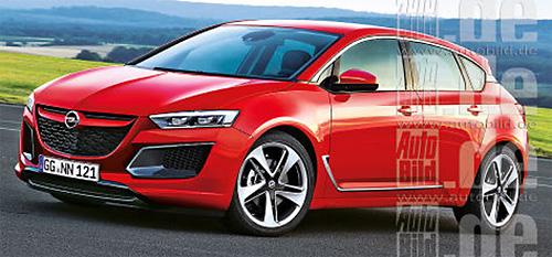 Opel Astra будет намного легче и больше