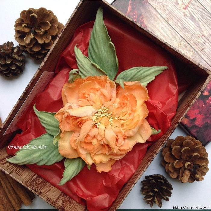 Цветы из шелка от Inna Rothschild (18) (700x700, 410Kb)