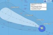 Тайфун «Ин-Фа» угрожает острову Гуам