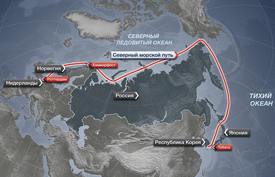 Иностранным судам разрешат ходить по Северному морскому пути