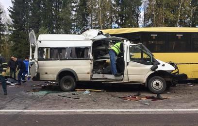 Попавшая в ДТП под Тверью маршрутка перевозила людей незаконно