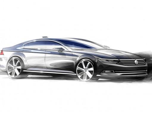 Новый VW Passat CC покажут в марте