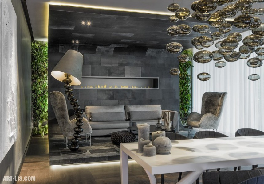 Роскошный дизайн гостиной — функциональность и эстетика