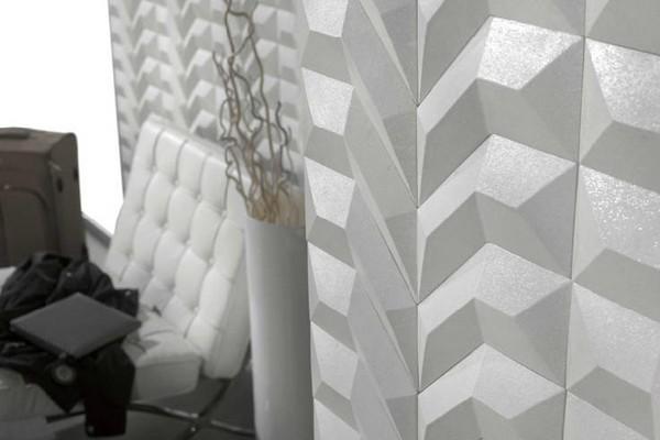 В трехмерном пространстве: модульные панели для стен