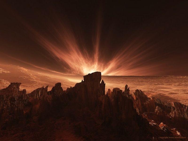 Потрясающие виды Марса
