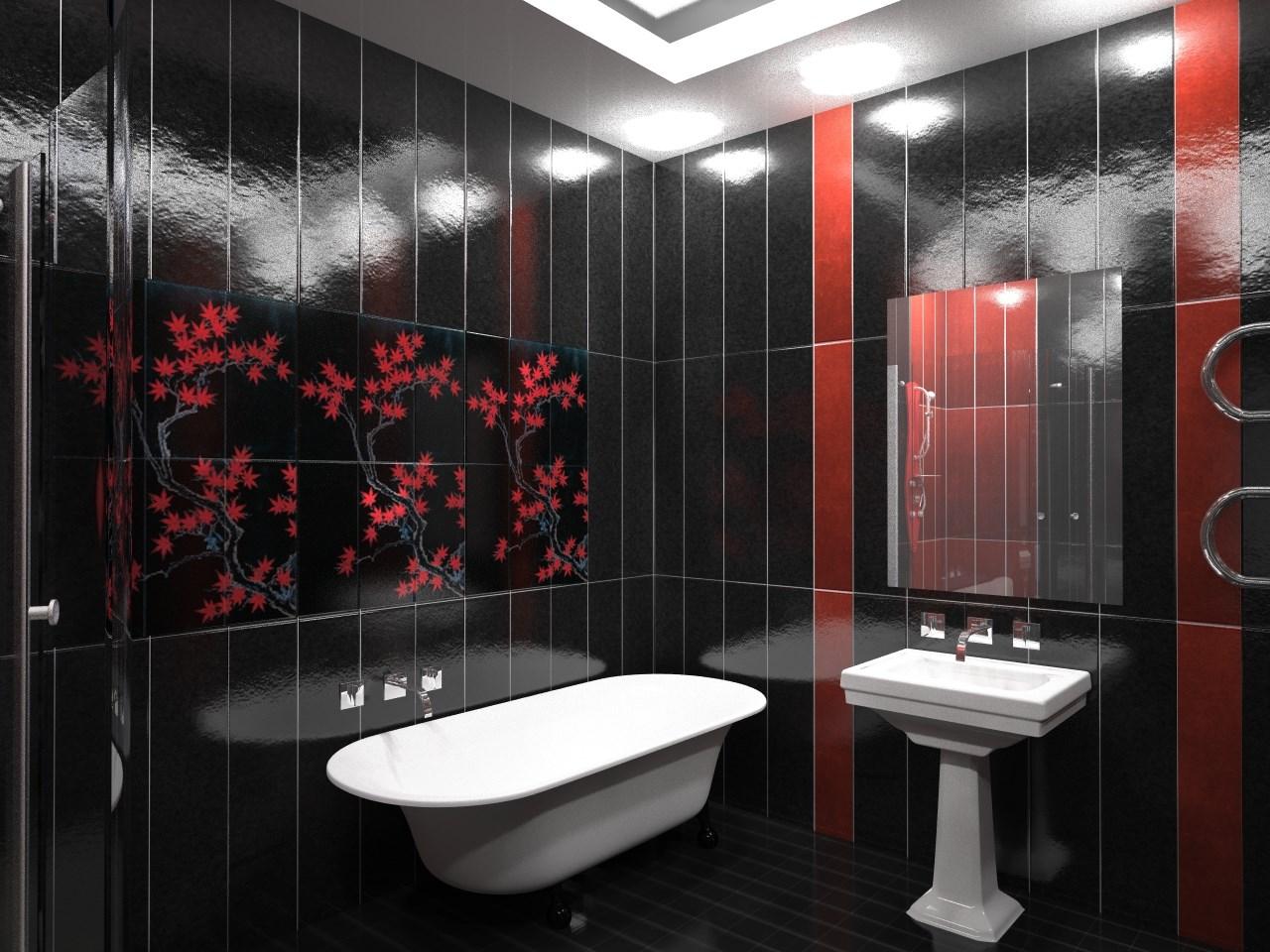 Ванная комната дизайн с панелями