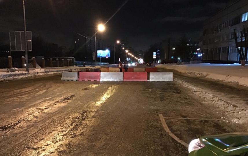 ЦОДД рекомендует объезжать улицу Ферганская на юго-востоке Москвы, где ранее просел грунт