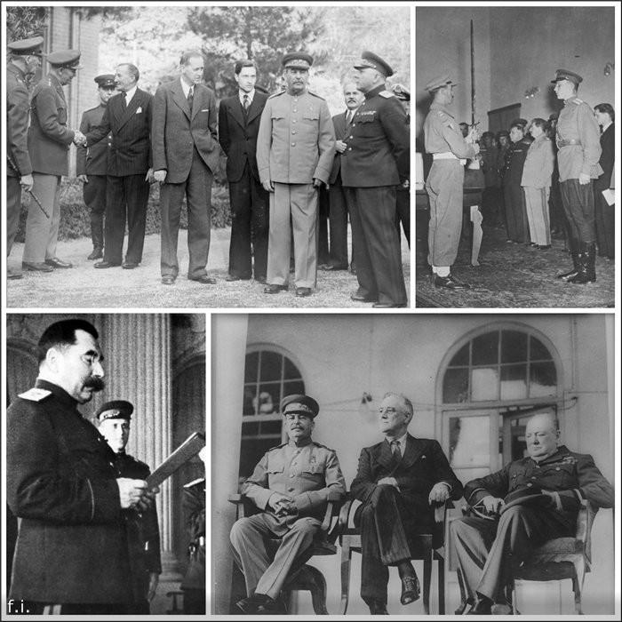 Тегеранская конференция вторая мирова война, фото