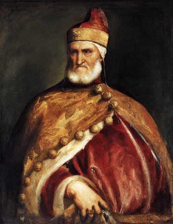 Тициан. Портрет венецианского дожа Андреа Гритти