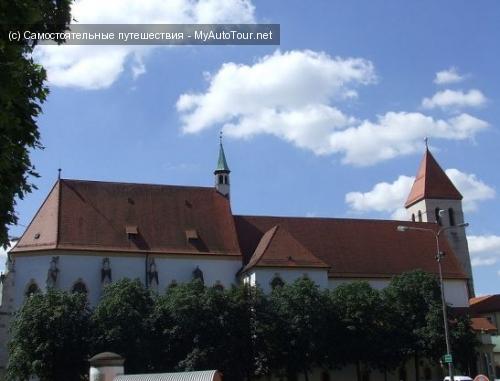 Регенсбург. Старейшая церковь