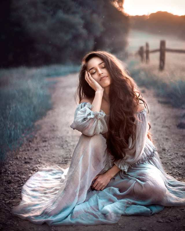 Волшебная красота и сказка в портретной фотографии Алекса Миллера