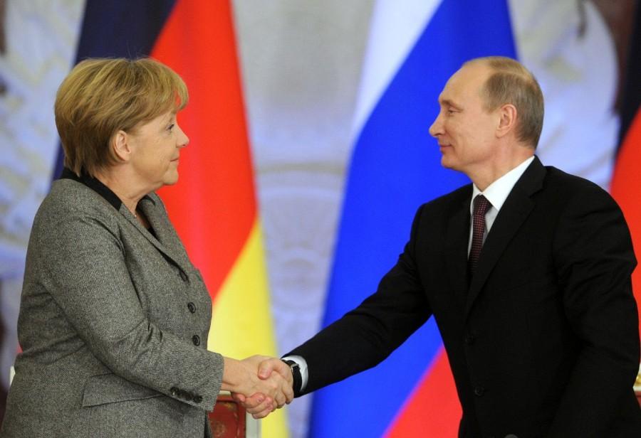 Германия наша! Болеем за Меркель!